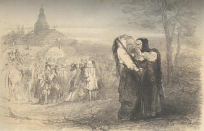 Lénore - illustration de Charles Rochussen