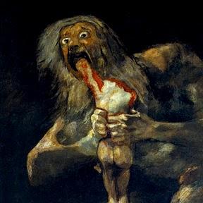 Francisco Goya - Saturne dévorant son enfant