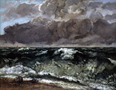 Courbet - la Vague - 1870