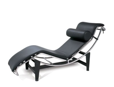 chaise longue créée par Le Corbusier en 1928