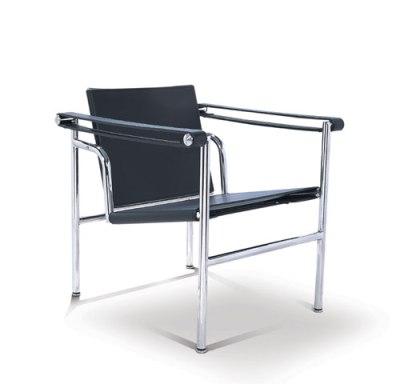 Chaise Lounge LC1 créée par Le Corbusier en 1928