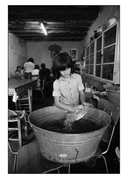 Frano Zecchin - Monreale 1979 - l'enfant qui n'est pas allé à l'école