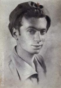 Ando Gilati à 24 ans alors qu'il était partisan dans le Piémont