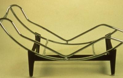 Chaise Longue B306,  Conception: Charlotte Perriand, Le Corbusier, Edouard Jeanneret, 1928