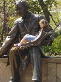 statue d'Andersen