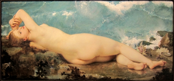 Paul Baudry - la Vague et la Perle - 1862