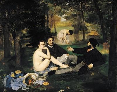 Édouard Manet - Le Déjeuner sur l'herbe - 1863