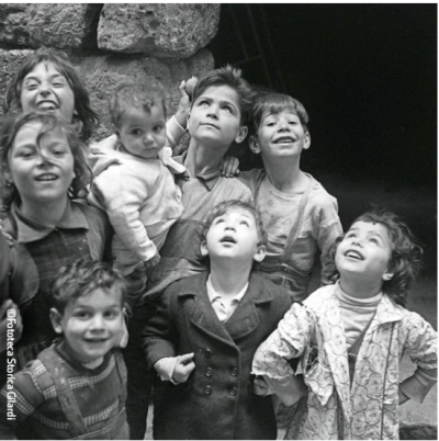Ando Gilardi - Enfants de Cortile Scalilla, Palerme - 1957