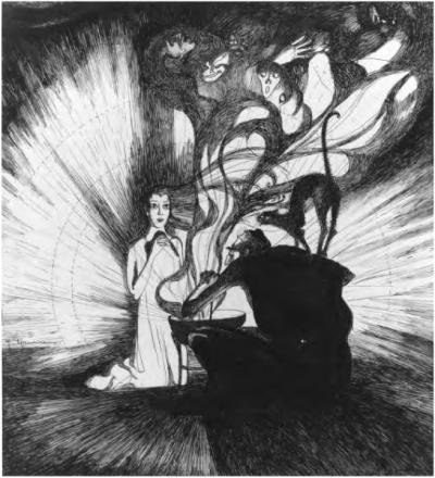 """Jeanne Mammen - """"Der goldene Topf"""""""