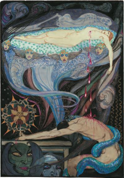 Jeanne Mammen - »Mörder und Opfer« (»Reue«)
