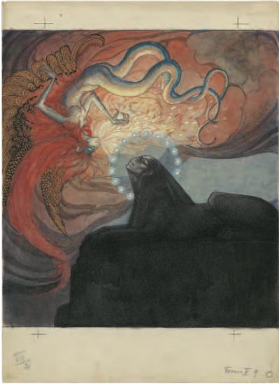 Jeanne Mammen »Sphinx und Chimäre« (2. Fassung)