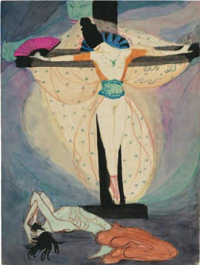 Jeanne Mammen - »Frau am Kreuz«