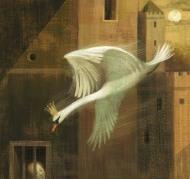 les cygnes sauvages d'Andersen - illustration de Anna & Elena Balbusso