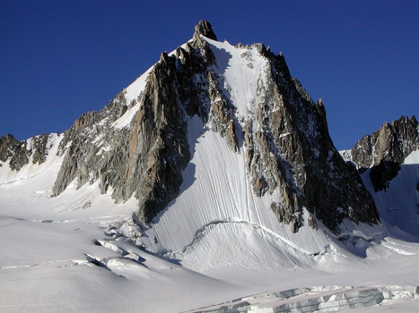 la Tour Ronde (Massif du Mont-Blanc) – face Nord