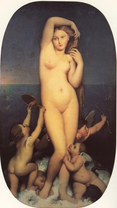 Ingres - Venere Anadiomene - 1808-1848