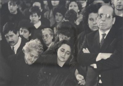 Franco Zecchin - Palerme 1988. Enterrement de l'agent de police Natale Mondo