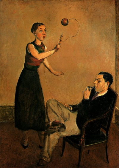 Pierre et Betty Leyris par Balthus - 1932