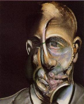 Michel Leiris par Francis Bacon