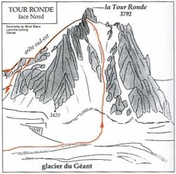 Tour Ronde (Massif du Mont-Blanc)
