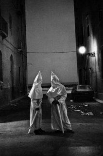 """Franco Zecchin - Trapani, 1978 - La procession des """"Misteri""""."""