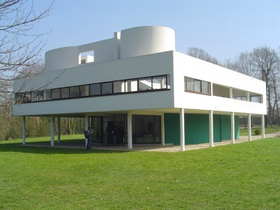 home sweet home la villa savoye poissy de le corbusier 1928 1931 de paysage en paysage. Black Bedroom Furniture Sets. Home Design Ideas