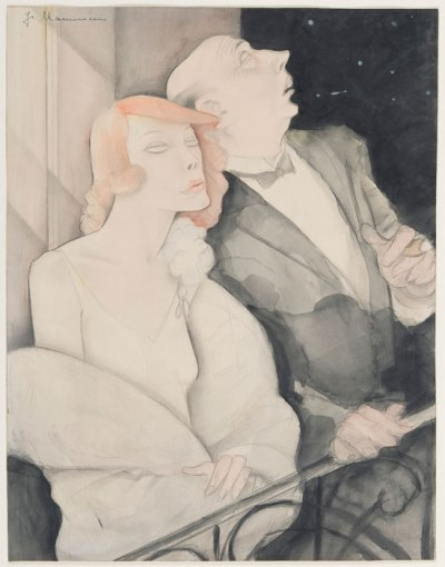 Jeanne Mammen, Ursa Major, la Grande Ourse, 1920