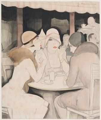 Jeanne Mammen, A Kranzler de 1929