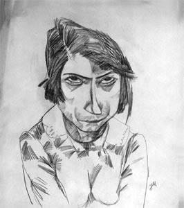 Jeanne Mammen - Auto-portrait - 1932