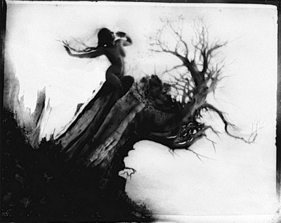 Anne Brigman - Storm Tree, 1915