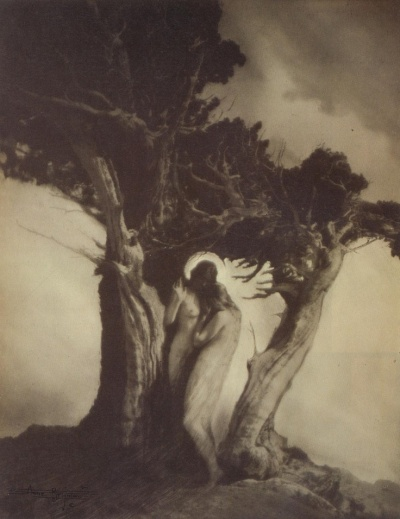 Anne Brigman - Heart of the Storm - 1912