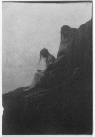 Anne Brigman - Souls of the weeping rock - 1910