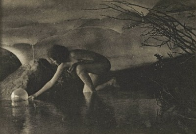 Anne Brigman - The Bubble - 1909