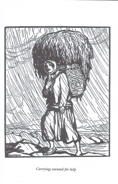 Jack Yeats : Carrying seeweed for kelp