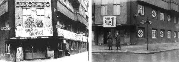 cabaret Eldorado après sa fermeture par les nazis