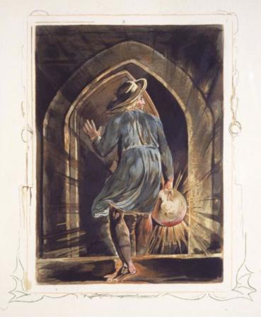 William Blake - illustration pour Jerusalem - planche 1 - édit. 1804