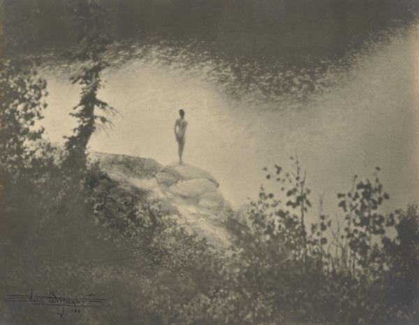 Anne Brigman - Figure in Landscape - 1923 - musée Paul Getty