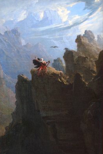 John Martin - le barde (détail) - vers 1817