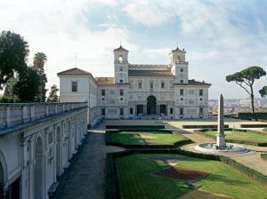 Jardins r v s le carr des niobides de la villa for Jardin villa medicis rome