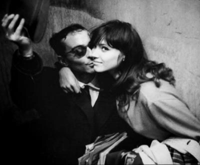 Anna Karina et Jean-Luc Godard - 1960