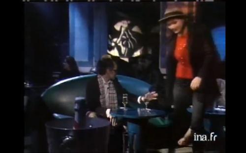 Anna Karina et Jean-Luc Godard