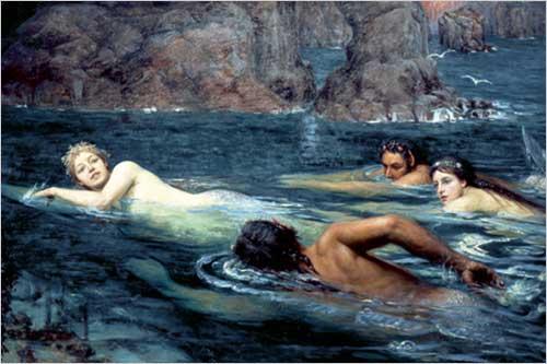 Collier Twentyman Smithers - Course entre Sirènes et Tritons - 1895