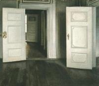 intérieur de Vilhelm Hammershoi