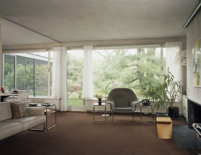 Gropius House à Lincoln - salle de séjour