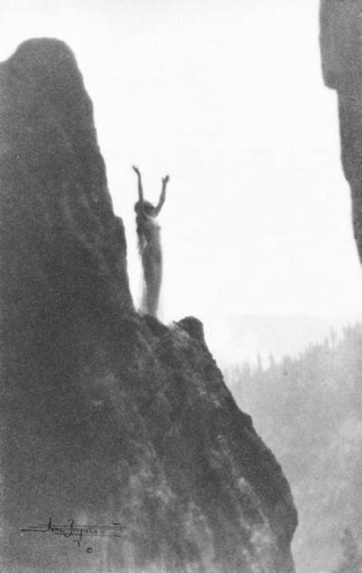 Anne Brigman - Incantation - 1905