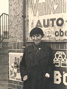 Jeanne Mammen, vers 1926. Photo Archiv Förderverein der Jeanne-Mammen-Stiftung eV