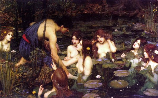 John William Waterhouse - Hylas et les Nymphes - 1896