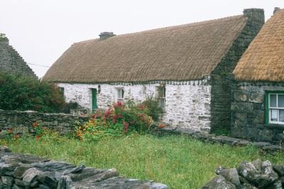 maison dans laquelle habitait Synge dans l'île de Inis Meain