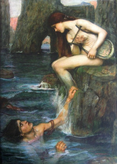 John William Waterhouse - la Sirène - 1900