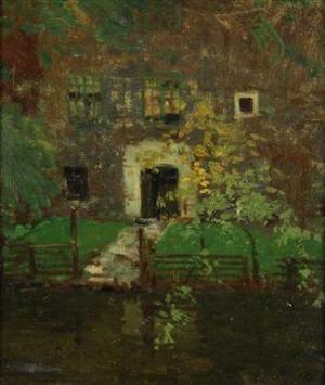 Tavik Frantisek Simon - canal à Bruges