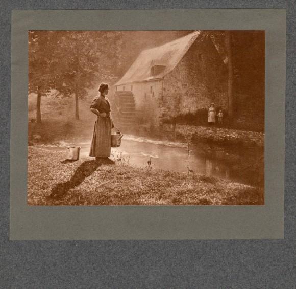 Auprès du Moulin, 1905 - Léonard Misonne